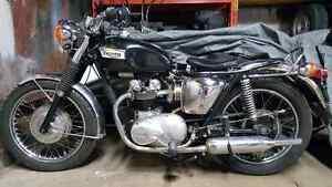 Triumph tiger 1973