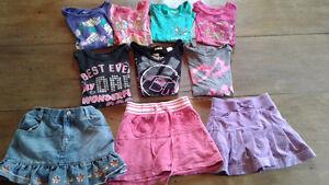Chandails et jupe-culottes 5/6 ans, fille