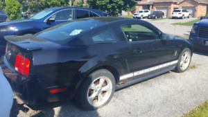 For sale 2007 ford mustang v6 5 speed manual