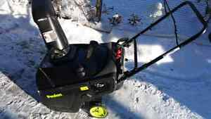 POULAN P521 SNOWBLOWER LOCATED IN RED DEER