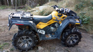 Can Am Outlander with just over 250 hours