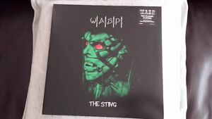 WASP THE STING DOUBLE LIVE  green VINYL ! BRAND NEW !