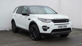 image for 2017 Land Rover Discovery 2.0 TD4 180 HSE Black 5dr Auto SUV diesel Automatic