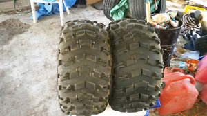 Set of badland Xtr quad tires