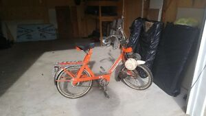 2 solex et 2 pocket bike