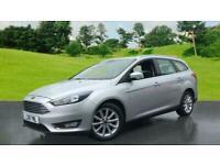 2018 Ford Focus 1.0 EcoBoost 125ps Titanium 5dr Auto Estate Petrol Automatic