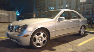 2001 Mercedes-Benz C240 Manual