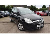 2010 VAUXHALL ZAFIRA 1.6 PETROL EXCLUSIV*7 SEATS*LOW MILEAGE*EXCELLENT COND.