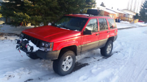 1998 jeep zj trade for stock jeep