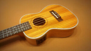 Concert Ukulele Acoustic Electric - $125