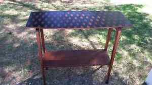 Vintage solid pine sofa or accent table near Orillia