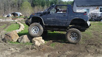 1990 Chevrolet sidekick modifier off road