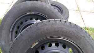 195/65/r15 winter tires for sale!  Cambridge Kitchener Area image 2