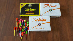 Brand new Titleist golf balls