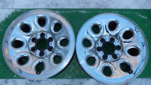"17"" steel GMC/Chev rims in VG to Excellent condtion"