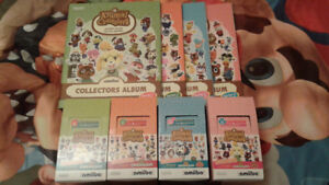 Animal Crossing Amiibo Cards Lot (S 1-4)