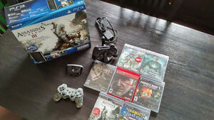 Playstation 3 (PS3) Super Slim 500GB (Black) w/Extras