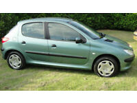 Peugeot 206 1.4 ( a/c ) 2001MY LX - FULL MOT - 2 OWNERS - LAST OWNER 16 YEARS