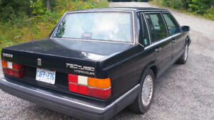 1989 Volvo 760 Turbo Intercooler California car Swap/ trade