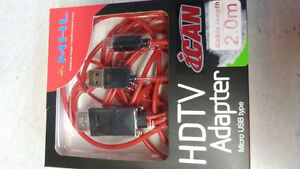 MHL to HDMI-HDTV adapter
