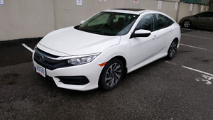 Honda Civic EX 2016 lease take over