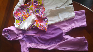 2 girls bathing suits