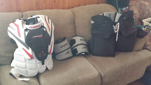 Hockey Gear for sell - Chest, Pants & Knee guards.
