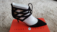 Ivanka Trump suede shoes size US 10 - Brand New
