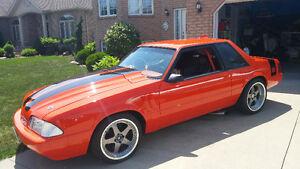 93 FOX MUSTANG LX SHOW CAR