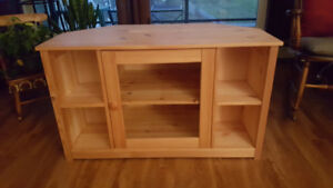 TV Stand by JYSK!!! Natural Wood!