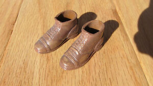 GI Joe brown boots for 12 inch doll - new / never used - $2