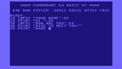 In den Achtzigern waren wir alle Programmierer
