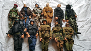 Huge GI Joe 21st Century Toys Military action figure lot