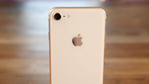 NEW FACTORY UNLOCKED APPLE IPHONE 8 64G ROSE GOLD BOXED $849