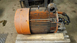 75 HP Industrial Motor / Coolant and hydraulic pump
