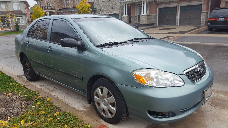 2006 toyota corolla ce sedan used cars trucks hamilton kijiji. Black Bedroom Furniture Sets. Home Design Ideas