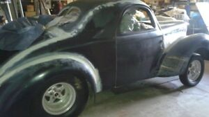1941 Willys coupe project