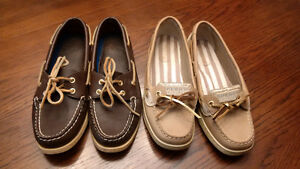 Two Pairs of Sperry Shoes for $80