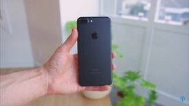 iPhone 7 Plus Black ,Brand New , Unlocked 799£