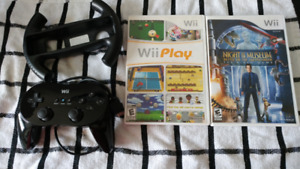 new Nintendo wii classic controller and Wii games and Wii driver