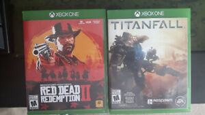 XBOX One games RDR2 Titanfall
