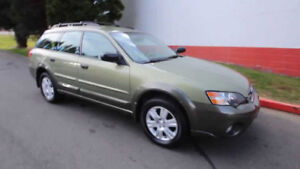 2007 Subaru Outback---AWD---2.5L 4 CYL-ONE OWNER-CLEAN CARPROOF