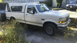 1992 ford truck with canopy can't reply if you dont leave #