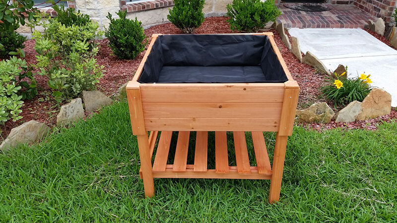 How to make wooden trough planters ebay for Wooden planters how to make