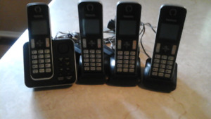Panasonic home phone and voicemail