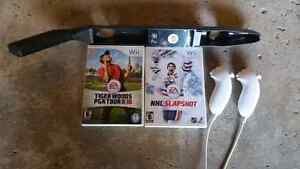 Wii Sport Games and Controller