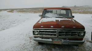 1971 f100 project truck for trade