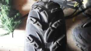 Four ATV Tires, (2) 26x8x14 & (2) 26x10x14 CST