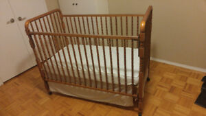 Crib with wheels/toddler bed
