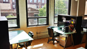 Coworking - Shared Office Space - Dedicated desk